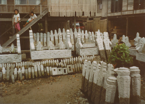 Gravestones for sale, South Sulawesi