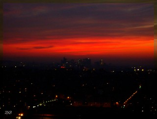 Coucher de soleil sur Paris - Sunset over Paris 2