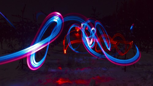 LED GEL graffiti by vanou