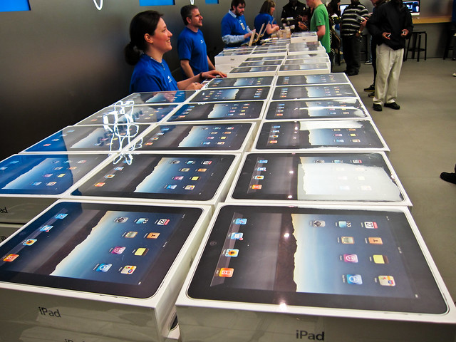 Lots of iPads