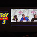 Toy Story 3 panel - Kristen Schaal, Jeff Garlin, and director Lee Unkrich