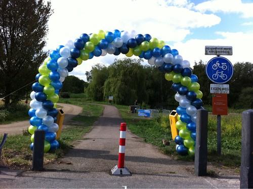 Ballonboog 7m Opening Diemerbos Amsterdam