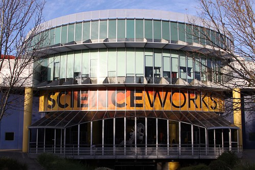 Main entry to the Scienceworks museum at Spotswood, Melbourne