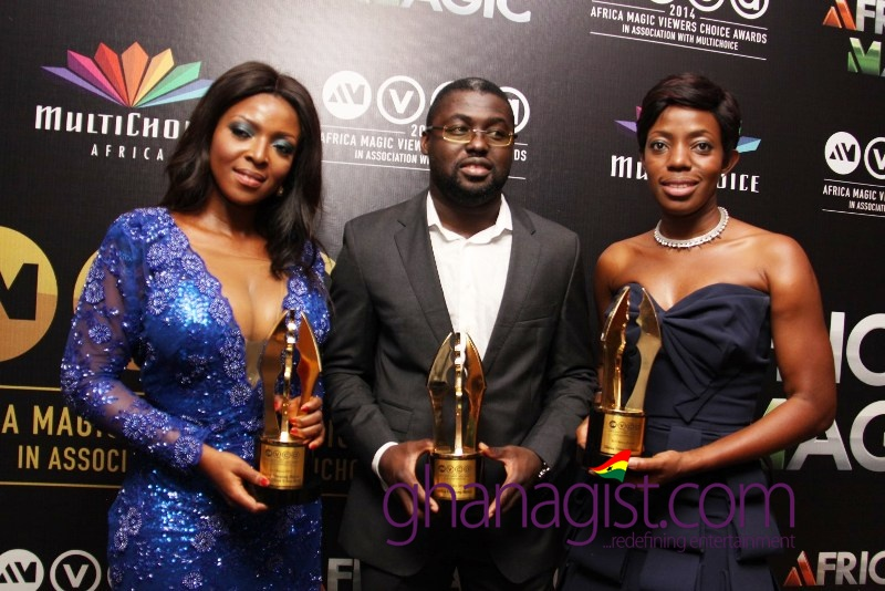 Yvonne Okoro, Ken Attoh and Shirley Frimpong Mansa - Best Movie 2013