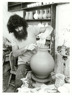 Well known Taranaki potter Nicholas Brandon, Taranaki