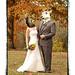 Traditional Halloween Wedding Portrait by Matt Andrews Photo
