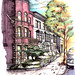 Carrol Street and Polhemus Place by James Anzalone