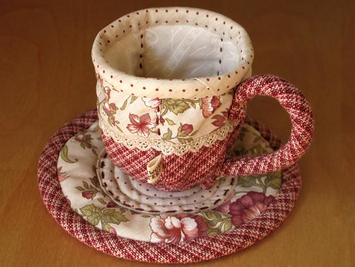 Quilted Teacup 11
