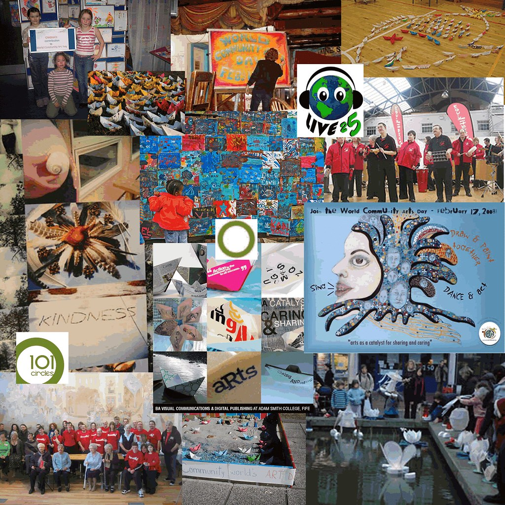 World Community Arts Day Montage 1