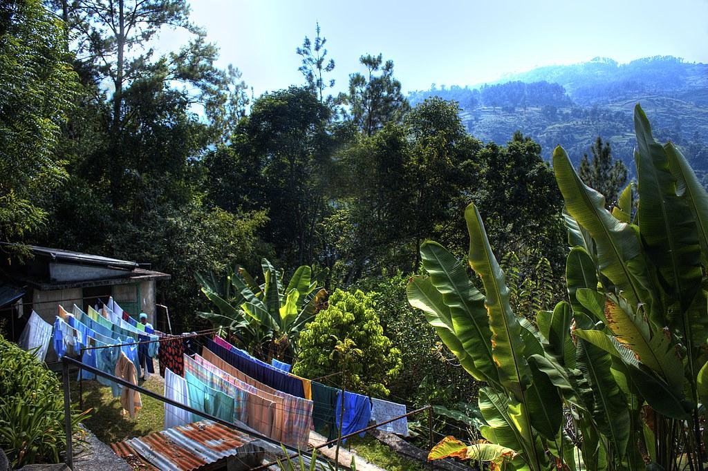 laundry day in Haiti