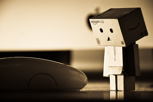 Danbo wasn't too keen on mice...