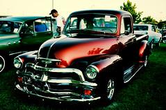 auto show(0.0), automobile(1.0), automotive exterior(1.0), pickup truck(1.0), wheel(1.0), vehicle(1.0), truck(1.0), custom car(1.0), automotive design(1.0), mid-size car(1.0), chevrolet advance design(1.0), compact car(1.0), antique car(1.0), vintage car(1.0), land vehicle(1.0), luxury vehicle(1.0), motor vehicle(1.0),