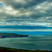 Robin Hood's Bay from above Ravenscar by Thomas Tolkien