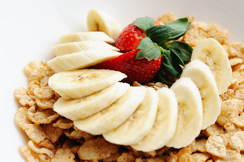 Cereal and Bananas!
