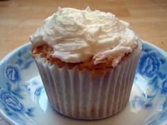 Lemon Angel Food Cupcake