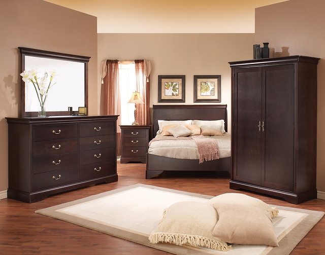 Ap industries cambridge collection adult bedroom chambre coucher adulte - Photo de chambre adulte ...