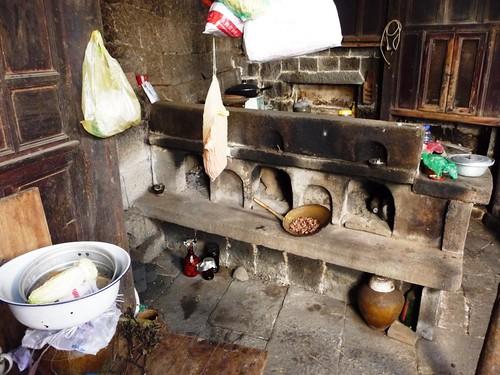 Kitchen Old House No 1 Heshun Village Yunnan China A Photo On Flickriver