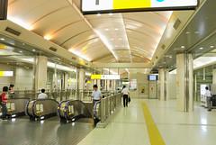 Underground Walkway in Tokyo Station