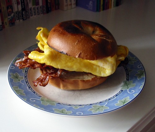 Delicious Smoky Bacon & Egg