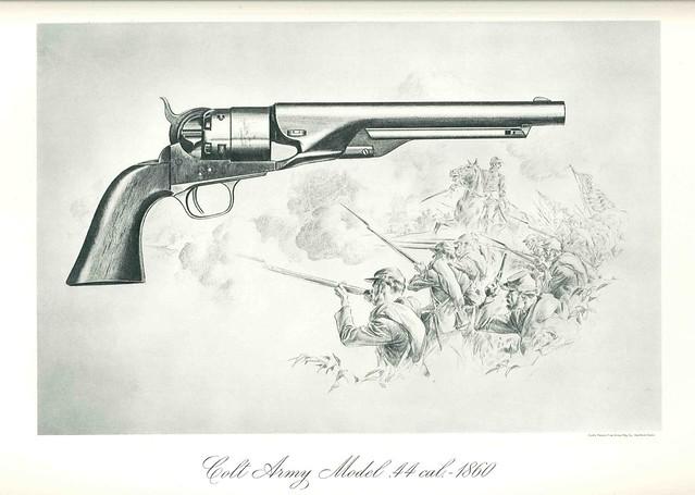 45 Revolver Colt Colt Revolver Drawing