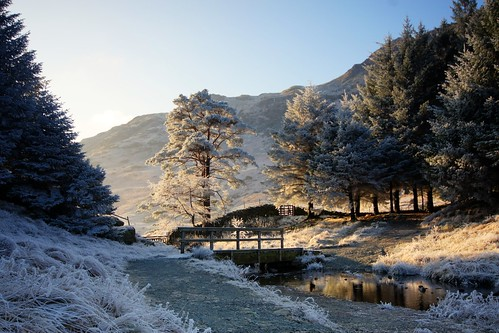 Blea Tarn Lake District New Year