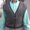 Sean's Vest closeup