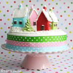 Snowy Village Christmas cake recipe