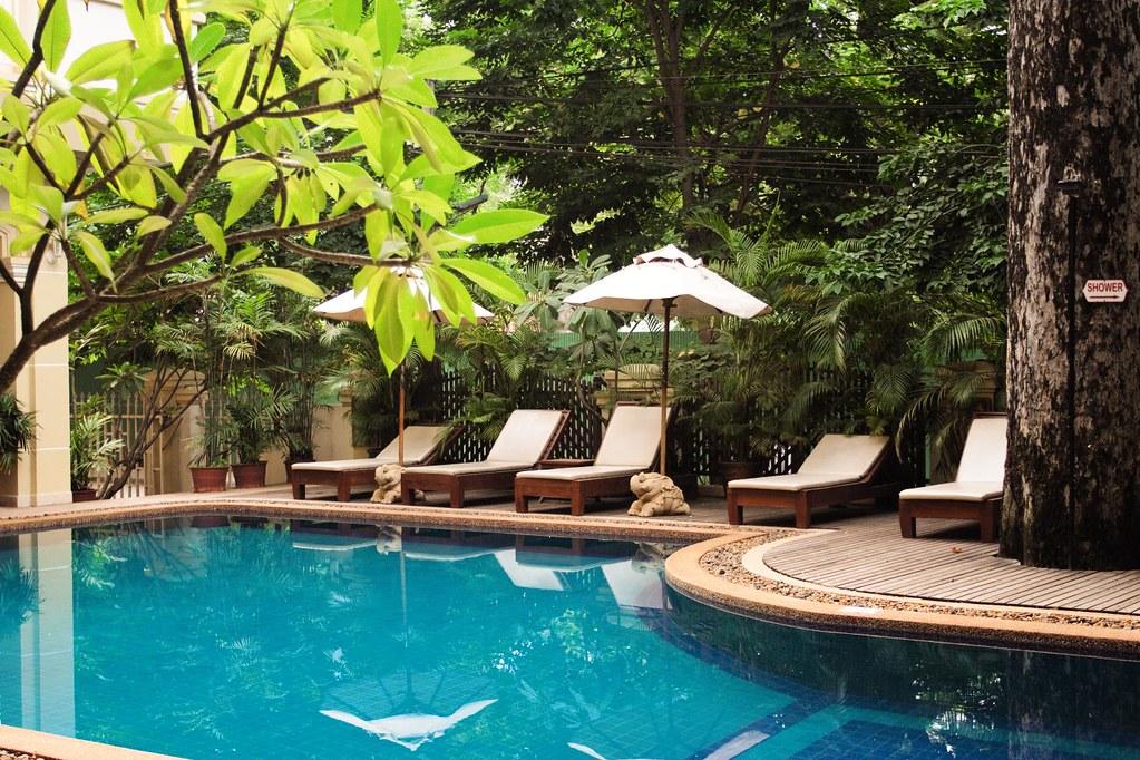 Casa Angkor Hotel, Siem Reap, Cambodia