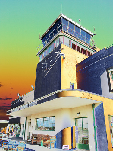 Shoreham Airport Tower by Gordon Haws