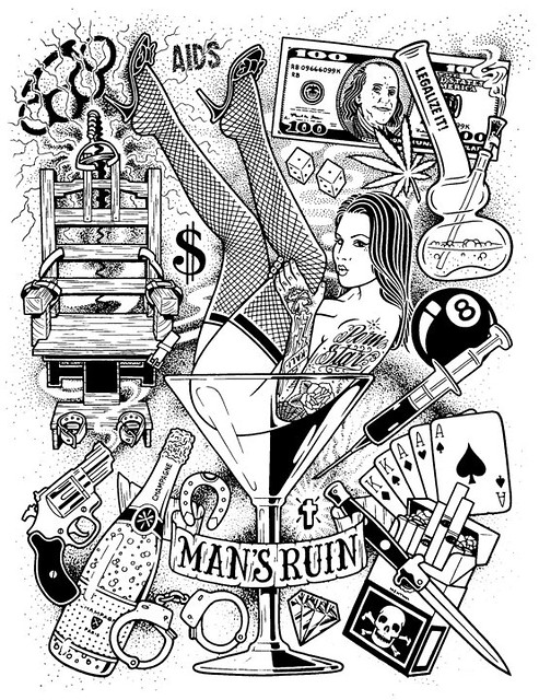 man 39 s ruin poster mike giant flickr photo sharing. Black Bedroom Furniture Sets. Home Design Ideas