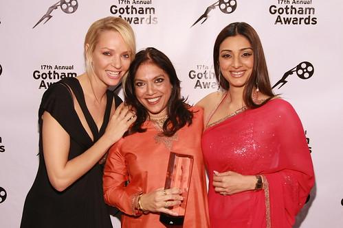 Gotham Awards - Uma Thurman, Mira Nair, Tabu