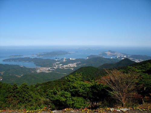 sea mountain nature japan geotagged engagement hiking observatory 日本 kansai ise mie 2007 isebay toba eastasia 伊勢市 farandwide 三重県 伊勢湾 鳥羽市 200710 mountasama 関西地方 20071028 朝熊山 geo:lat=34460145 geo:lon=136791394