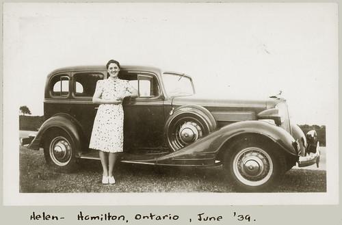 Helen of Hamilton, Ontario 1939