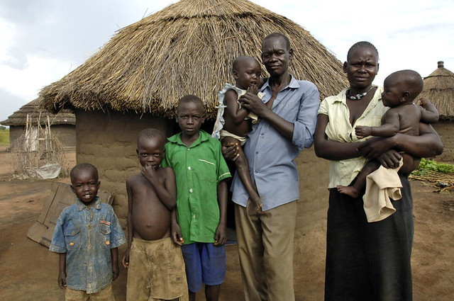 Madi Tribe Family Of Refugees Returns Home A Family Of