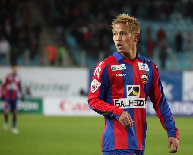 Keisuke Honda, #7, CSKA Moscow VS Amkar Perm