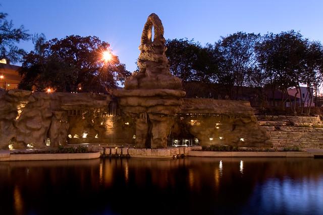 San Antonio Museum Reach The Grotto The Grotto Lights