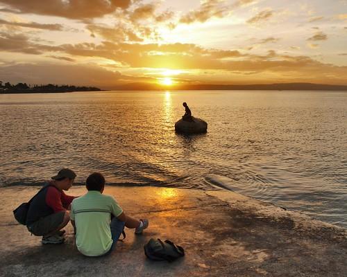 sunrise philippines photographers olympus mermaid zuiko davao sweetcaroline falala davaocity pinoykodakero garbongbisaya