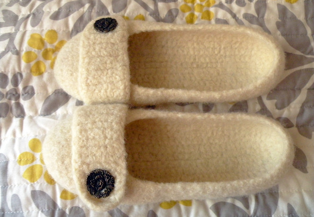 Crochet felted slipper pattern - TheFind