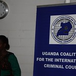 Joyce Apio - Coordinator of the Uganda Coalition on the International Criminal Court (UCICC)