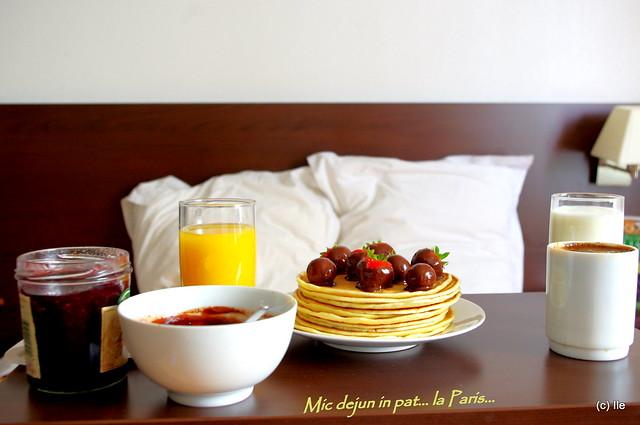 Mic dejun... la Paris (2)