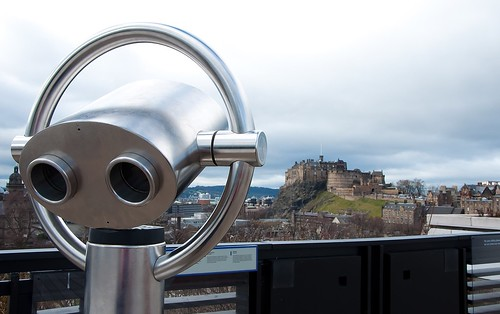 A Cyberman in Edinburgh!