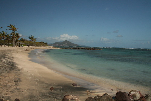 west beach paradise tropical caribbean stkitts nevis indies