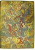 Marbled pastedown in Saliceto, Guilelmus de: De salute corporis