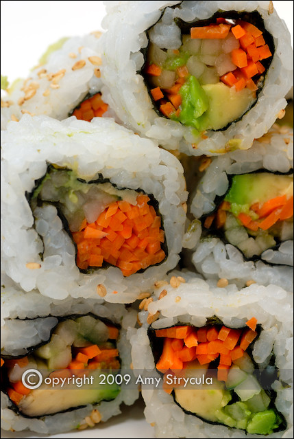 Vegetable Sushi | Flickr - Photo Sharing!