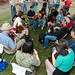 Louisiana Folk Roots Saturday Workshops, Jam Session at 2009 Festivals Acadiens et Créoles