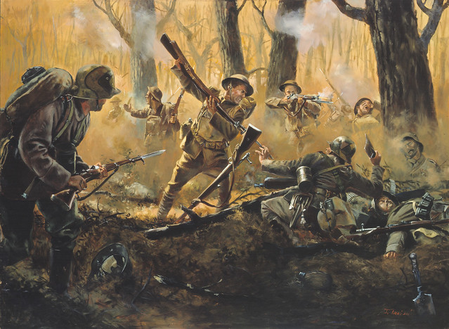 Men of iron by don troiani courthiezy france july 15 19