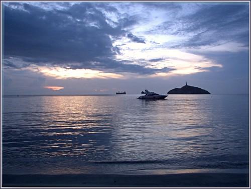 sunset southamerica mar colombia sonnenuntergang kolumbien santamarta magdalena caribe puestadelsol américadosul karibik amériquedusud zuidamerika américadelsur südamerika 南美洲 南アメリカ コロンビア 哥伦比亚 urinawyayala ñembyamérika