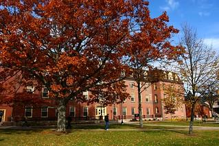 Main Building in Autumn