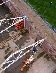 Strawboard factory 'de Toekomst' ('Future') being restored