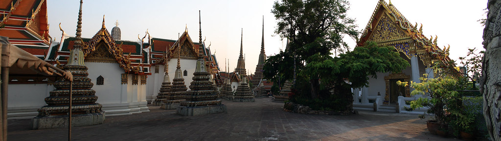 Bangkok Temple Panorama